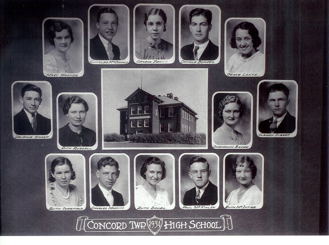 Concord Township High School Class of 1934