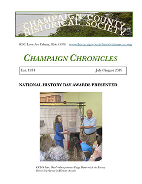 Champaign County Historical Society Newsletter