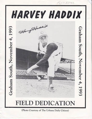 Harvey Haddix Cincinnati Reds